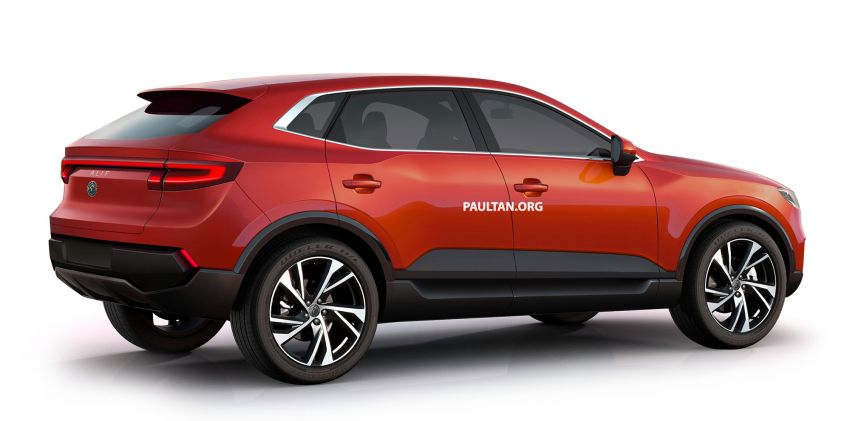 Mimco Alif – production version of electric SUV, Malaysia's New National Car Project hopeful imagined Image #998004
