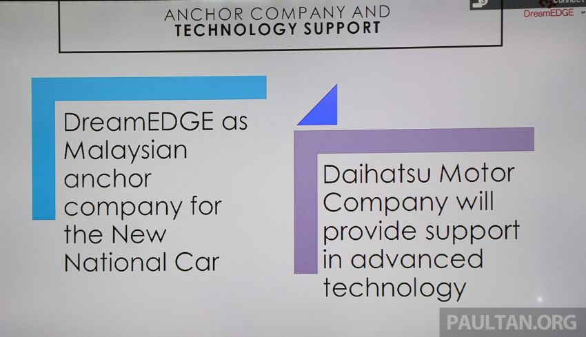 Government names DreamEdge as lead company for new national car – technology support from Daihatsu Image #999683