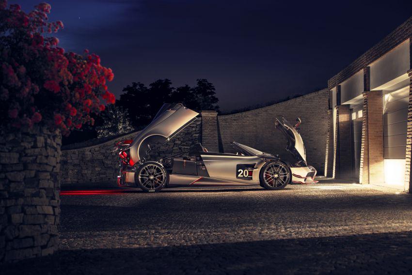 Pagani Huayra Roadster BC – 791 hp, harga RM11 juta Image #996286