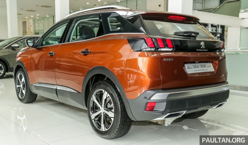 2019 Peugeot 3008 Plus, 5008 Plus CKD launched in Malaysia –  from RM151k; 1.6L Active, Allure variants Image #1007255