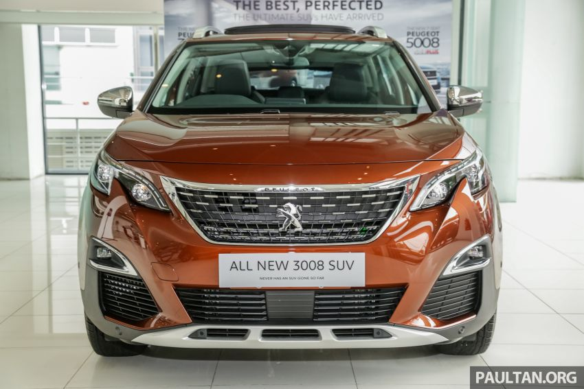 2019 Peugeot 3008 Plus, 5008 Plus CKD launched in Malaysia –  from RM151k; 1.6L Active, Allure variants Image #1007258