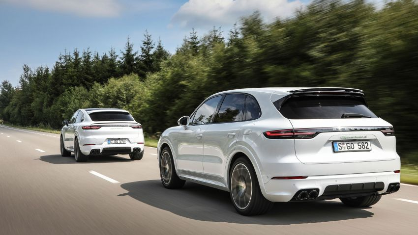 E3 Porsche Cayenne Turbo S E-Hybrid PHEV – 680 PS, 900 Nm, 3.7 l/100 km, 40 km electric range, Coupé also Image #1000480