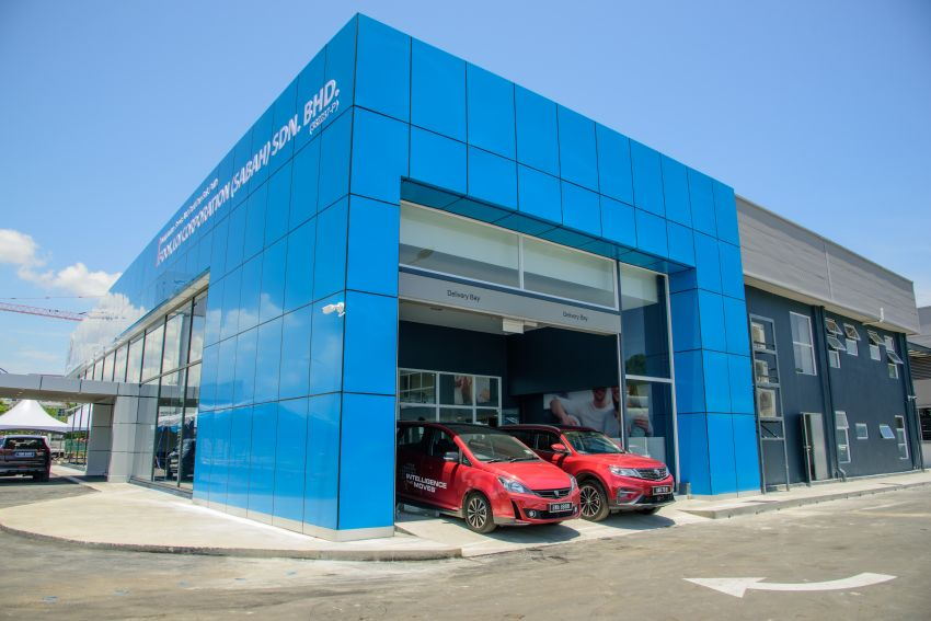 Proton opens first flagship 4S centre, in Kota Kinabalu Image #1007557