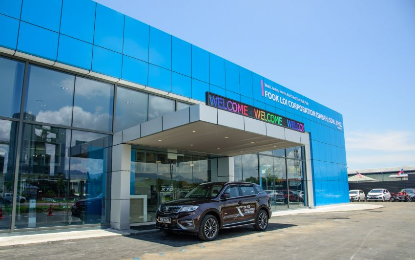 Proton opens first flagship 4S centre, in Kota Kinabalu Image #1007568
