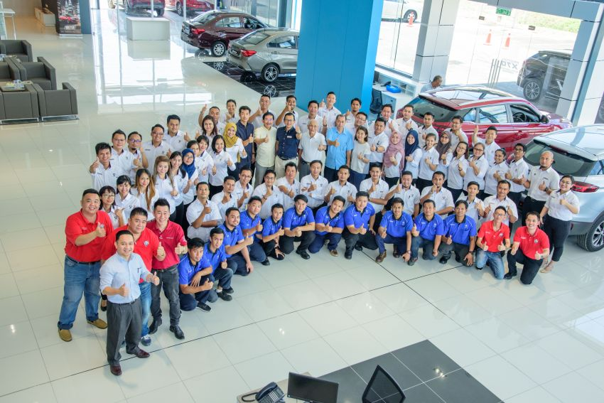 Proton opens first flagship 4S centre, in Kota Kinabalu Image #1007587