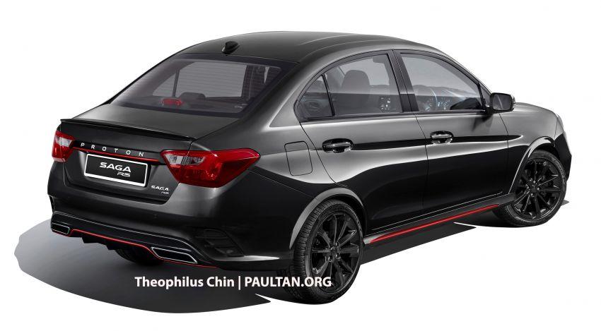 Proton Saga R3 Concept based on facelift imagined Image #1000313