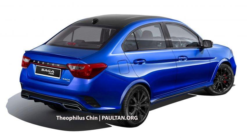 Proton Saga R3 Concept based on facelift imagined Image #1000315
