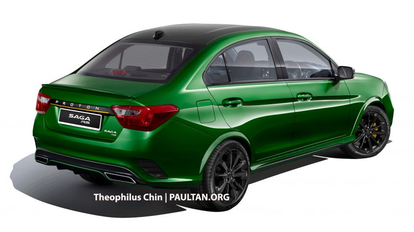 Proton Saga R3 Concept based on facelift imagined Image #1000317