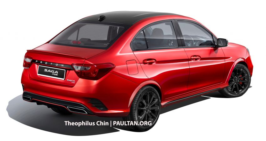 Proton Saga R3 Concept based on facelift imagined Image #1000321