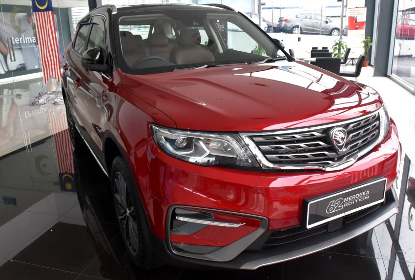 Proton X70 Merdeka Edition launched – 62 units only Image #1002647