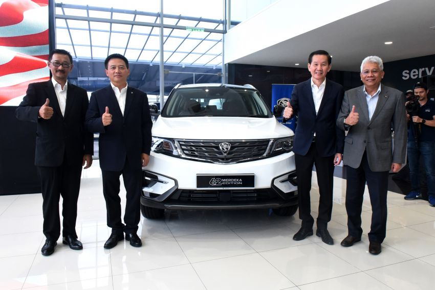 Proton X70 Merdeka Edition launched – 62 units only Image #1002638