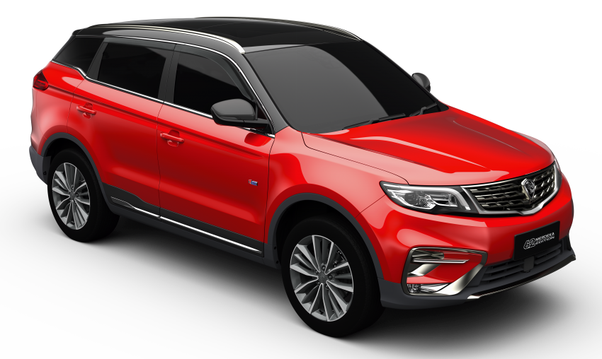 Proton X70 Merdeka Edition launched – 62 units only Image #1002643