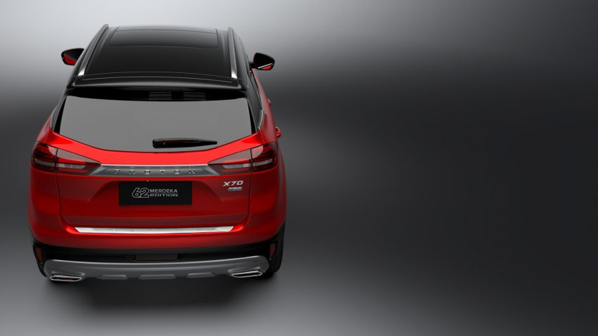 Proton X70 Merdeka Edition launched – 62 units only Image #1002645