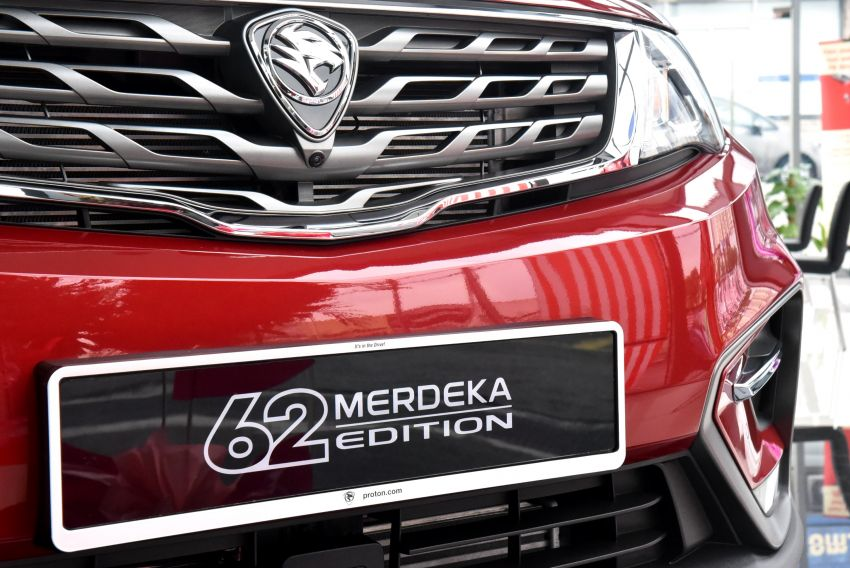 Proton X70 Merdeka Edition launched – 62 units only Image #1002646
