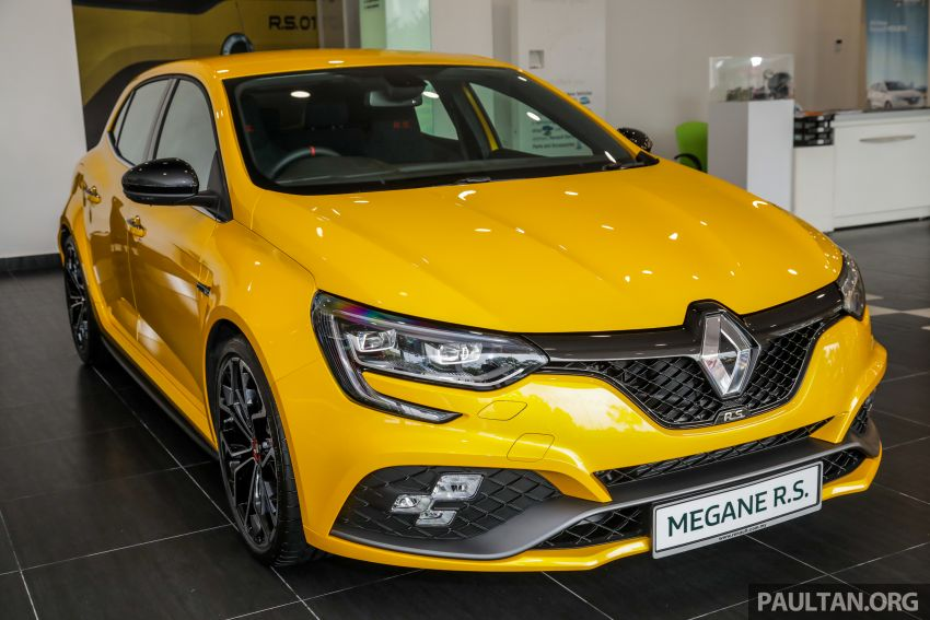 GALLERY: Renault Megane RS 280 Cup EDC – official pricing confirmed for the auto variant, RM299,888 Image #997779