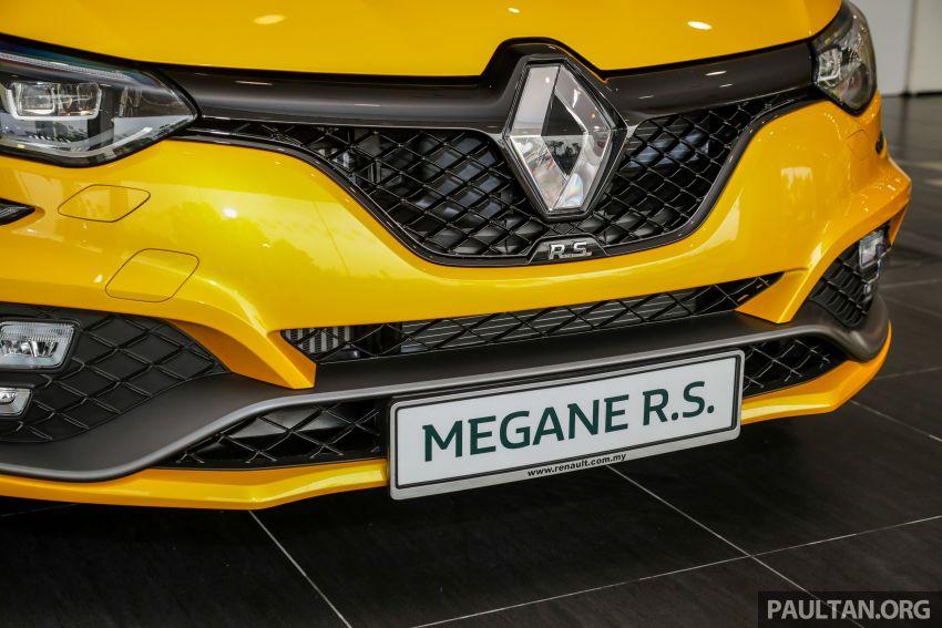GALERI: Renault Megane RS 280 Cup EDC – harga rasmi untuk varian auto diumumkan, RM299,888 Image #998473