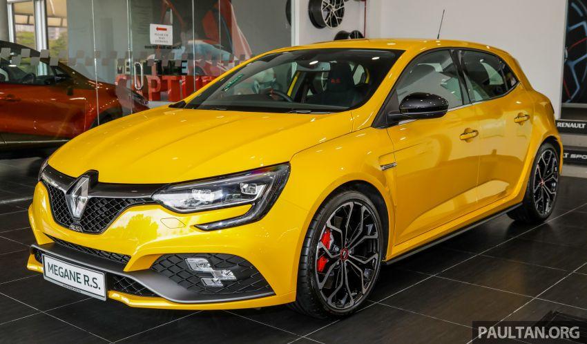 GALERI: Renault Megane RS 280 Cup EDC – harga rasmi untuk varian auto diumumkan, RM299,888 Image #998462
