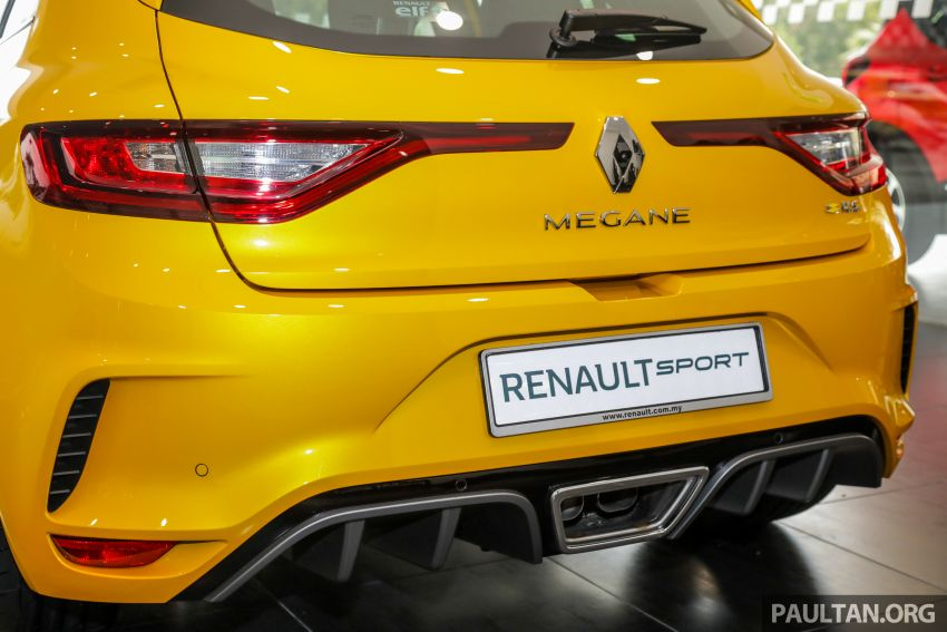 GALLERY: Renault Megane RS 280 Cup EDC – official pricing confirmed for the auto variant, RM299,888 Image #997800
