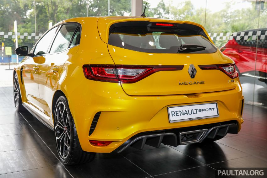 GALLERY: Renault Megane RS 280 Cup EDC – official pricing confirmed for the auto variant, RM299,888 Image #997782