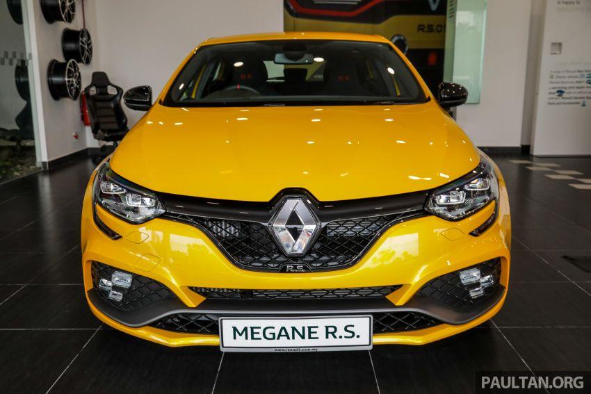 GALERI: Renault Megane RS 280 Cup EDC – harga rasmi untuk varian auto diumumkan, RM299,888 Image #998467