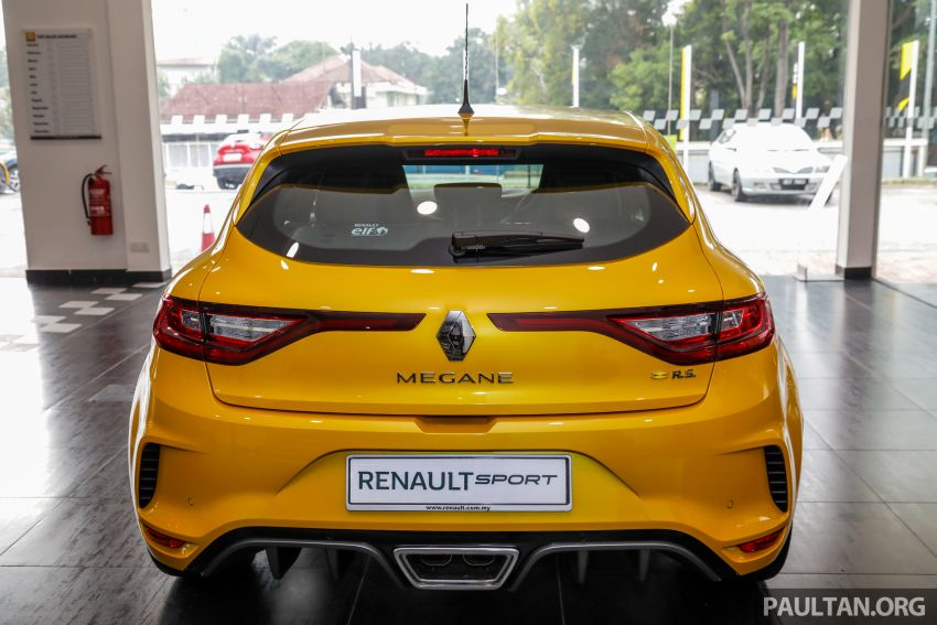 GALERI: Renault Megane RS 280 Cup EDC – harga rasmi untuk varian auto diumumkan, RM299,888 Image #998468