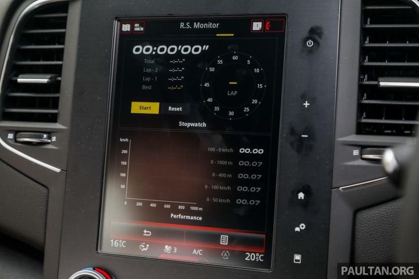 GALERI: Renault Megane RS 280 Cup EDC – harga rasmi untuk varian auto diumumkan, RM299,888 Image #998521