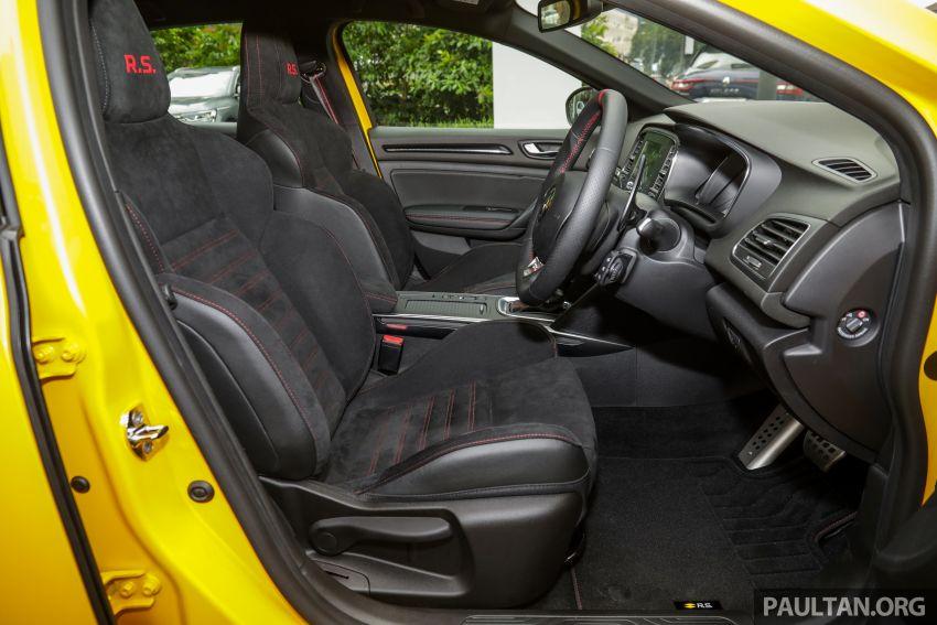 GALERI: Renault Megane RS 280 Cup EDC – harga rasmi untuk varian auto diumumkan, RM299,888 Image #998543