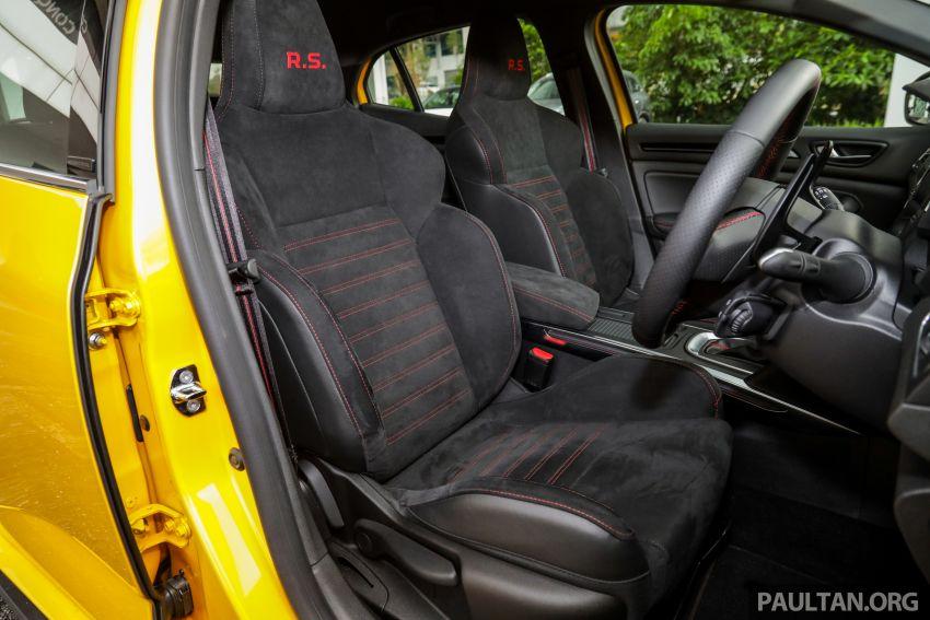 GALERI: Renault Megane RS 280 Cup EDC – harga rasmi untuk varian auto diumumkan, RM299,888 Image #998544