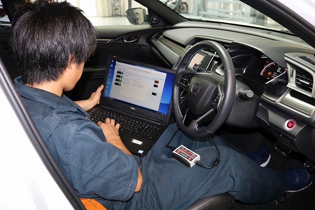 Spoon tala Civic 1.5L Turbo cecah 200 PS hanya guna komputer Hondata, dedah ekzos dan kelengkapan lain Image #997538