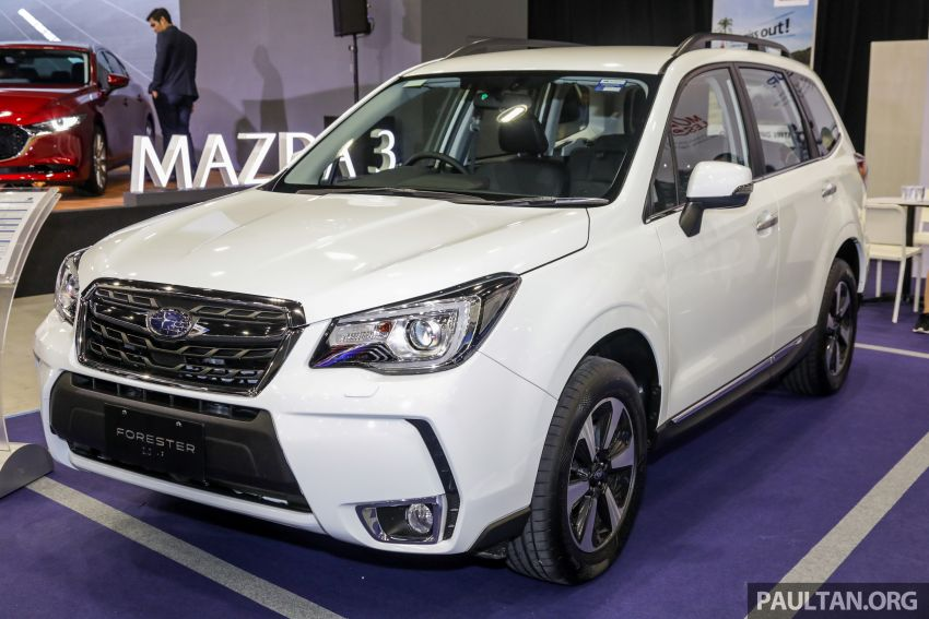 2019 Subaru Forester previewed in Malaysia – three 2.0L variants offered, EyeSight for range-topper Image #1002170