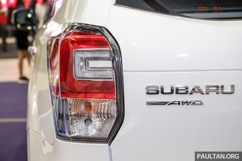 2019 Subaru Forester previewed in Malaysia – three 2.0L variants offered, EyeSight for range-topper Image #1002190