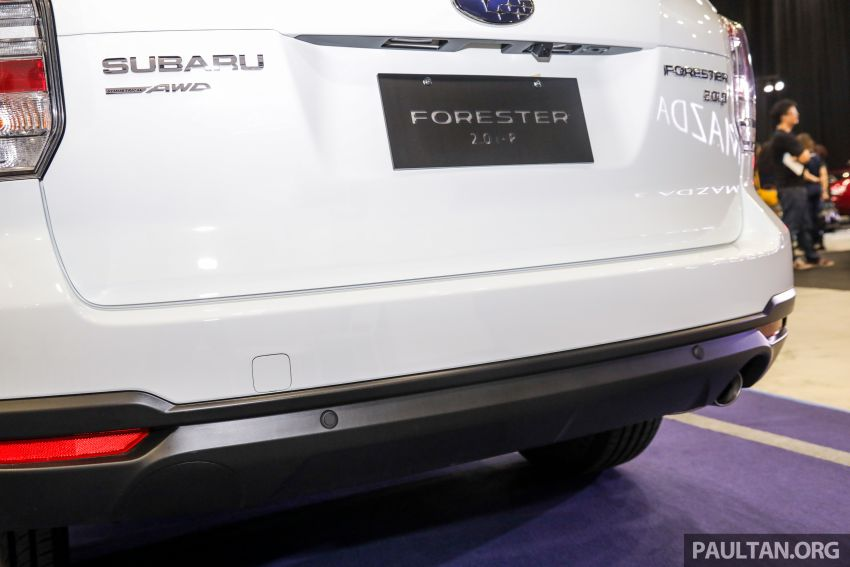 2019 Subaru Forester previewed in Malaysia – three 2.0L variants offered, EyeSight for range-topper Image #1002194