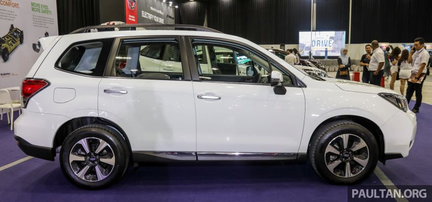 2019 Subaru Forester previewed in Malaysia – three 2.0L variants offered, EyeSight for range-topper Image #1002172
