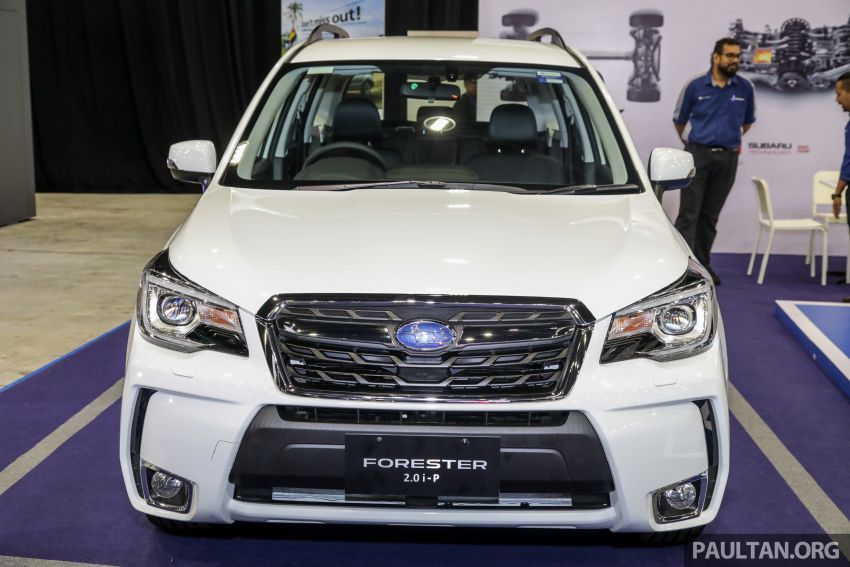 2019 Subaru Forester previewed in Malaysia – three 2.0L variants offered, EyeSight for range-topper Image #1002174