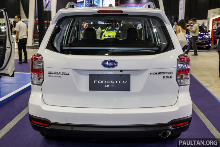 2019 Subaru Forester previewed in Malaysia – three 2.0L variants offered, EyeSight for range-topper Image #1002175
