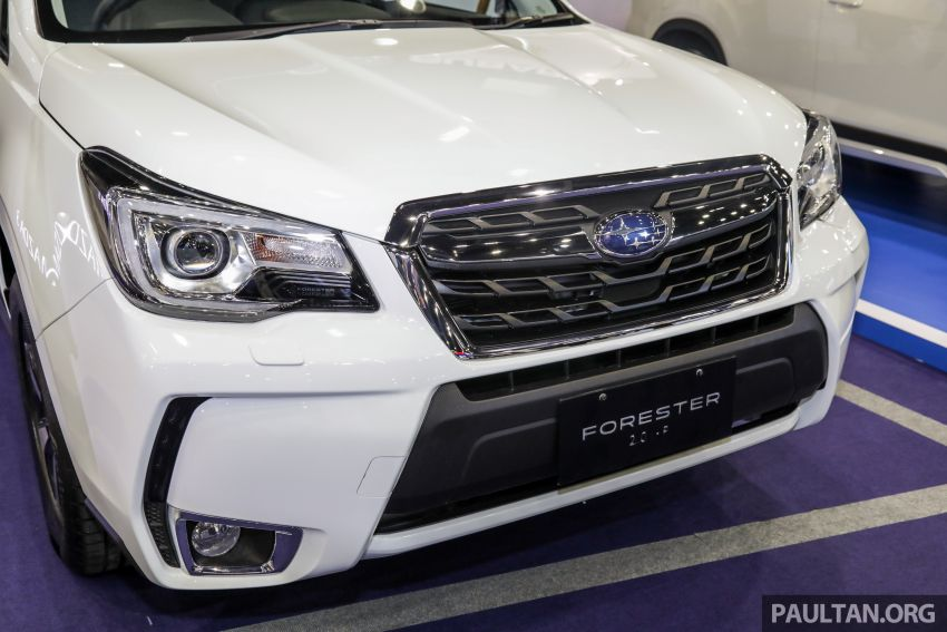 2019 Subaru Forester previewed in Malaysia – three 2.0L variants offered, EyeSight for range-topper Image #1002176