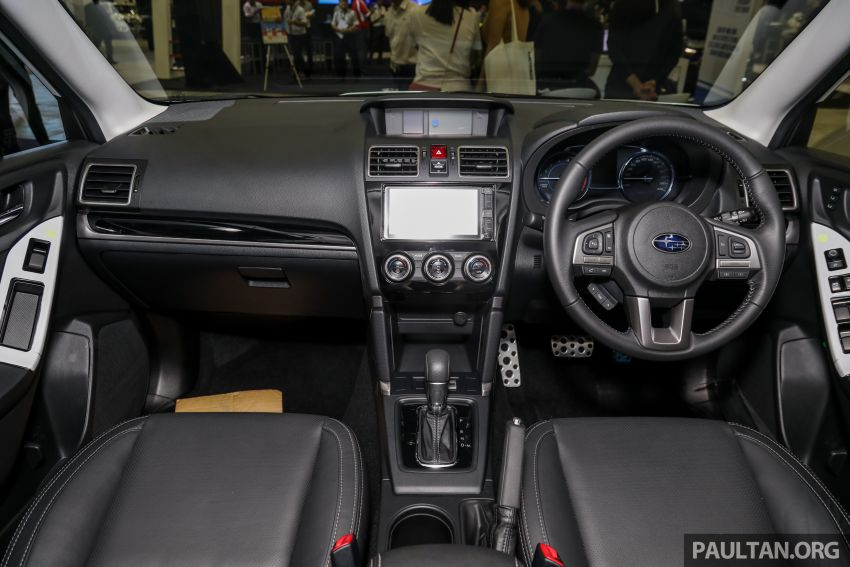 2019 Subaru Forester previewed in Malaysia – three 2.0L variants offered, EyeSight for range-topper Image #1002200
