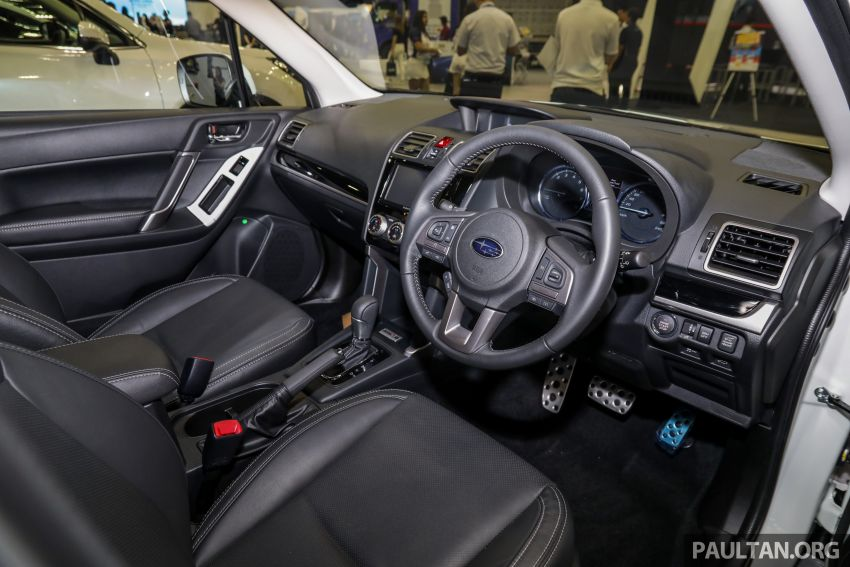 2019 Subaru Forester previewed in Malaysia – three 2.0L variants offered, EyeSight for range-topper Image #1002201