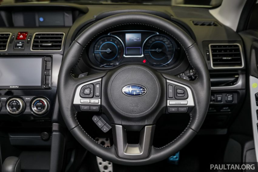 2019 Subaru Forester previewed in Malaysia – three 2.0L variants offered, EyeSight for range-topper Image #1002202