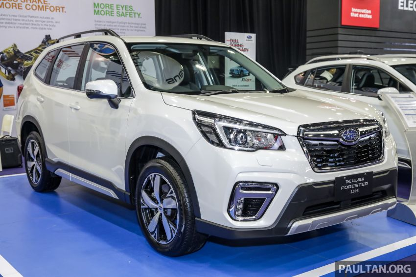 2019 Subaru Forester previewed in Malaysia – three 2.0L variants offered, EyeSight for range-topper Image #1002013