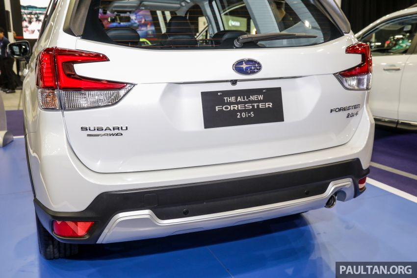 2019 Subaru Forester previewed in Malaysia – three 2.0L variants offered, EyeSight for range-topper Image #1002060