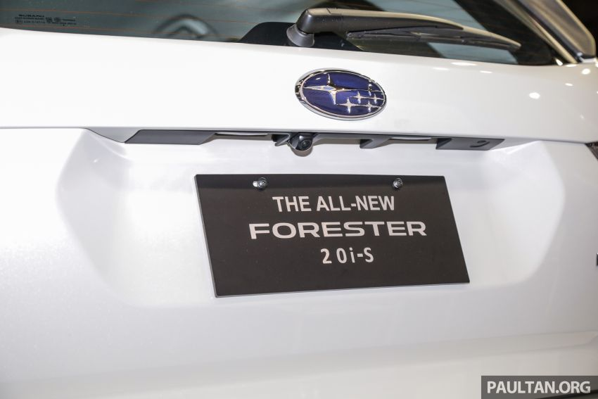 2019 Subaru Forester previewed in Malaysia – three 2.0L variants offered, EyeSight for range-topper Image #1002069