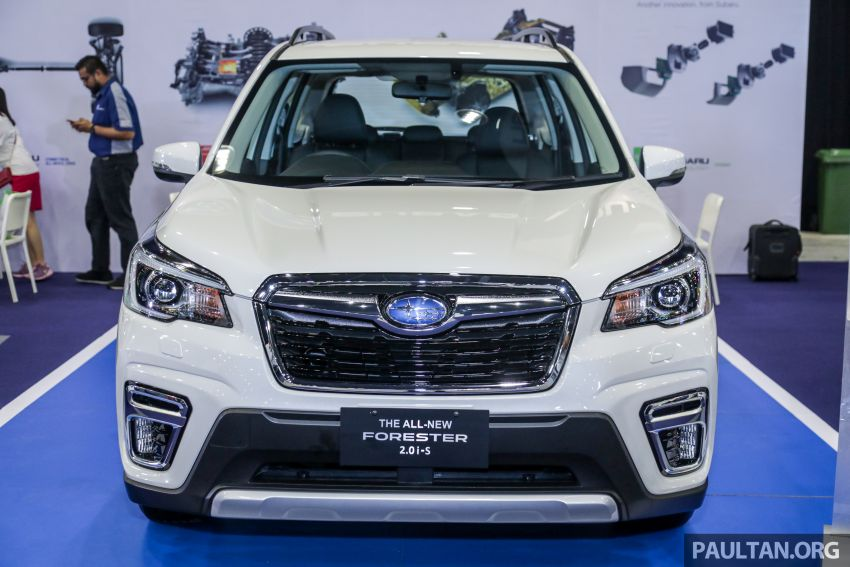 2019 Subaru Forester previewed in Malaysia – three 2.0L variants offered, EyeSight for range-topper Image #1002018