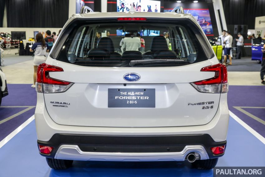 2019 Subaru Forester previewed in Malaysia – three 2.0L variants offered, EyeSight for range-topper Image #1002022