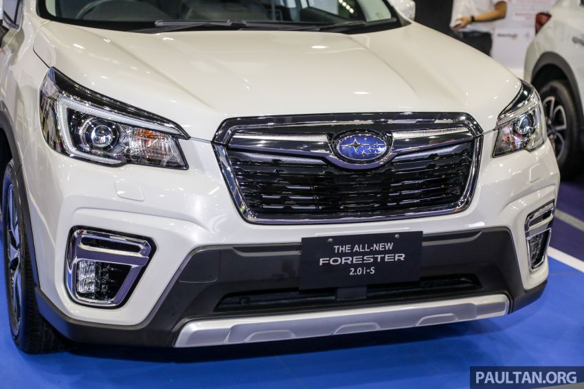 2019 Subaru Forester previewed in Malaysia – three 2.0L variants offered, EyeSight for range-topper Image #1002026
