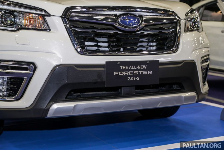 2019 Subaru Forester previewed in Malaysia – three 2.0L variants offered, EyeSight for range-topper Image #1002037