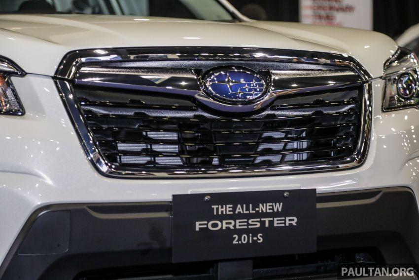 Subaru Forester 2019 dipertontonkan di Malaysia Image #1002023
