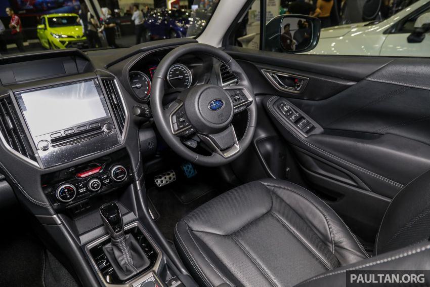 Subaru Forester 2019 dipertontonkan di Malaysia Image #1002087