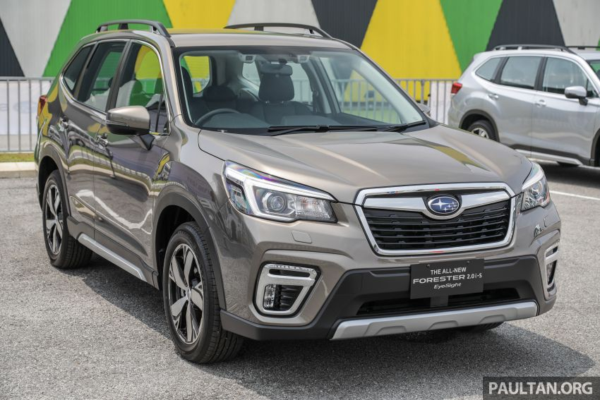 2019 Subaru Forester previewed in Malaysia – three 2.0L variants offered, EyeSight for range-topper Image #1002326