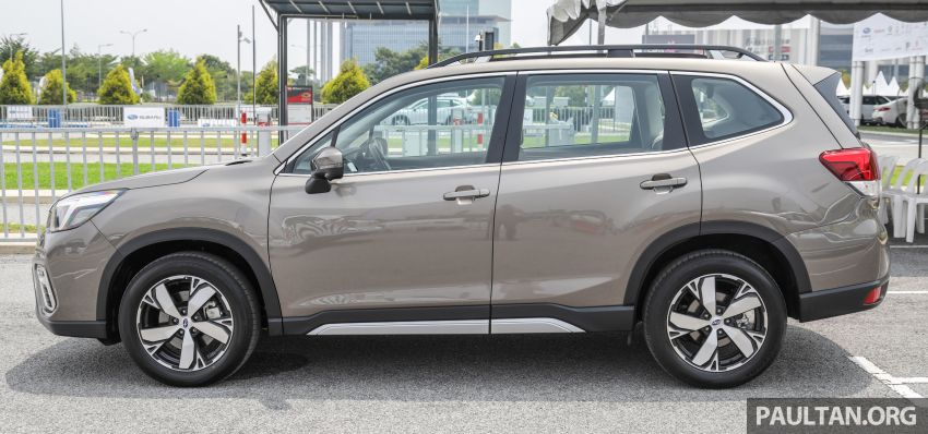 2019 Subaru Forester previewed in Malaysia – three 2.0L variants offered, EyeSight for range-topper Image #1002329